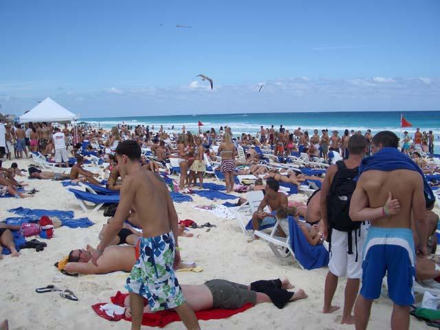 Spring Break Cancun Oasis Beach Party