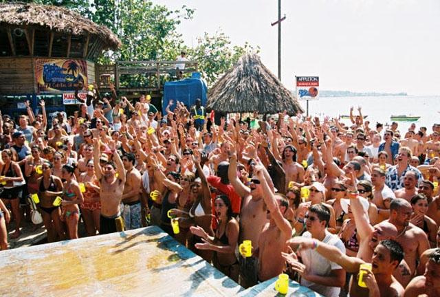 Spring Break Jamaica Risky Business Beach Party