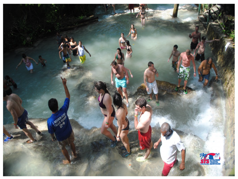 STS Travel Spring Break 2013 Excursion #2: Dunn's River Falls- Ocho Rios, Jamaica