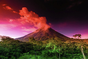 Spring Break. Volcanoes in Costa Rica