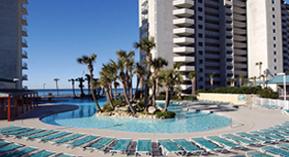 Long Beach Resort spring break resort in Panama City Beach, FL.