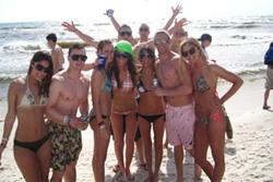 Spring break panamacity beach