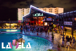 Spring Break Nightlife at La Vela in Panama City Beach.