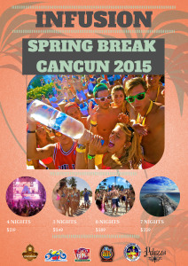 INFUSION: 2015 CANCUN PARTY PACKAGE