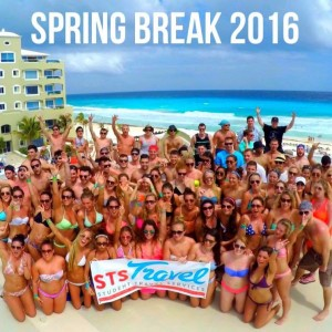 spring break students