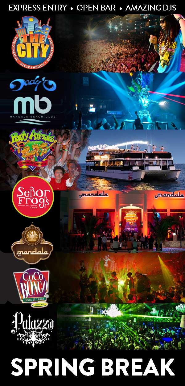 Spring Break Cancun VIP party