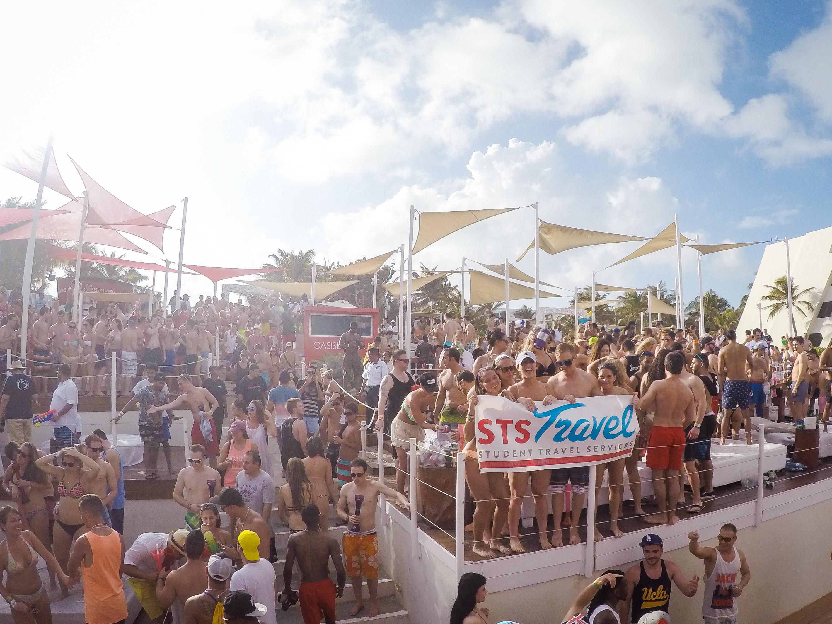Spring Break At Oasis Cancun Lite Ststravel Com Blog