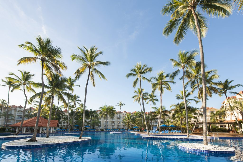 Occidental Caribe pool view