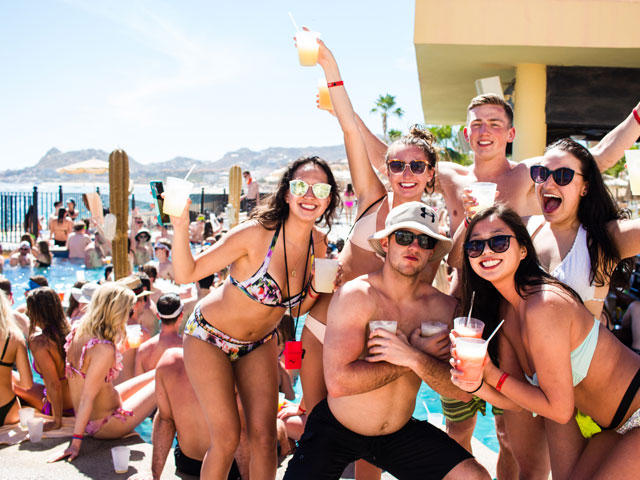 Yale  Spring Break Packages to Cabo San Lucas Mexico