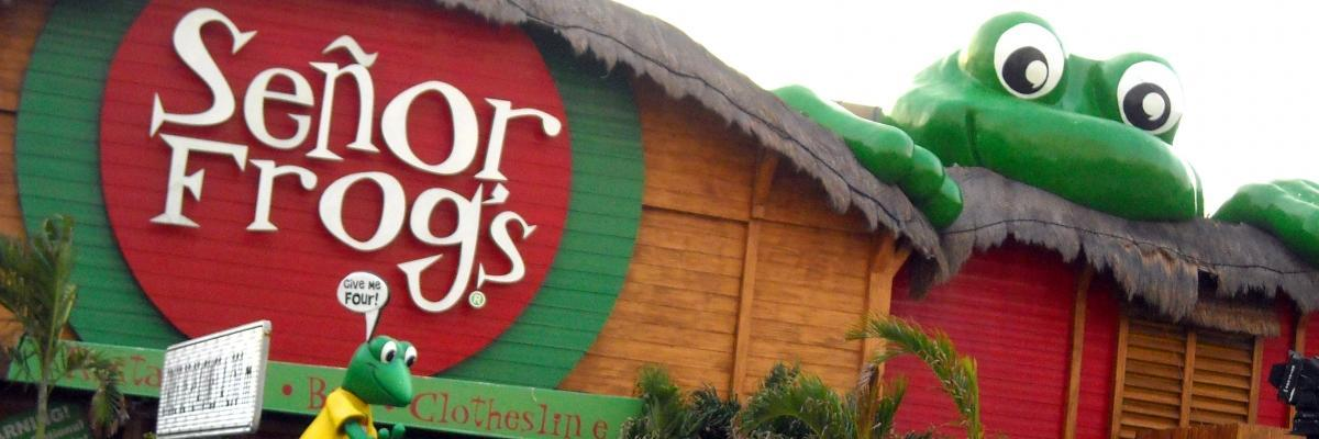 Senor Frogs Nightclub In Cancun Mexico