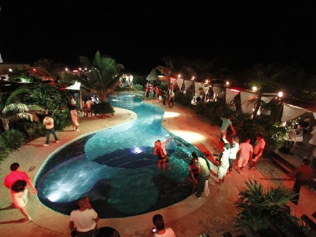 Spring Break Mandala Beach Club - Cancun, Mexico