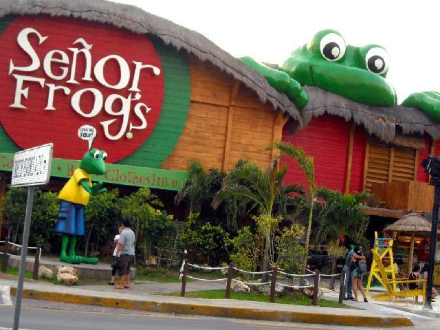 Cancun, Mexico - Senor Frogs
