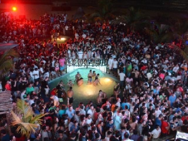 Mandala Beach Club Nightclub In Cancun Mexico