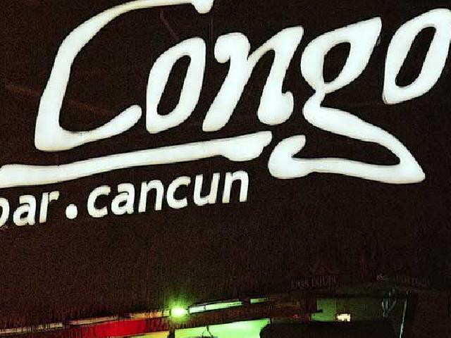 Congo Bar - Cancun, Mexico
