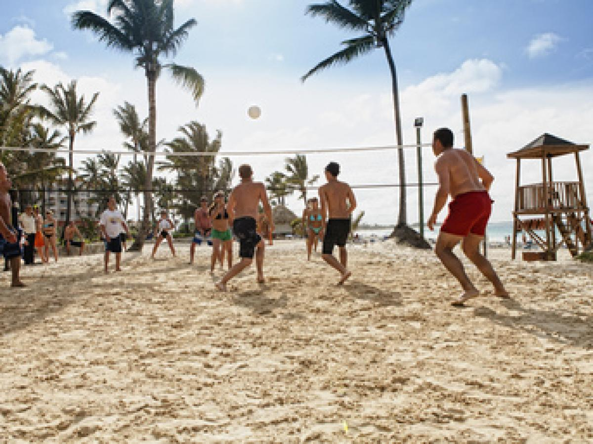 Barcelo Punta Cana Dominican Republic - Volley Ball