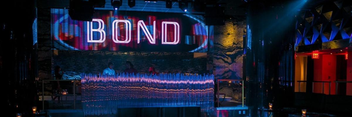 Bond Nightclub VIP Parties