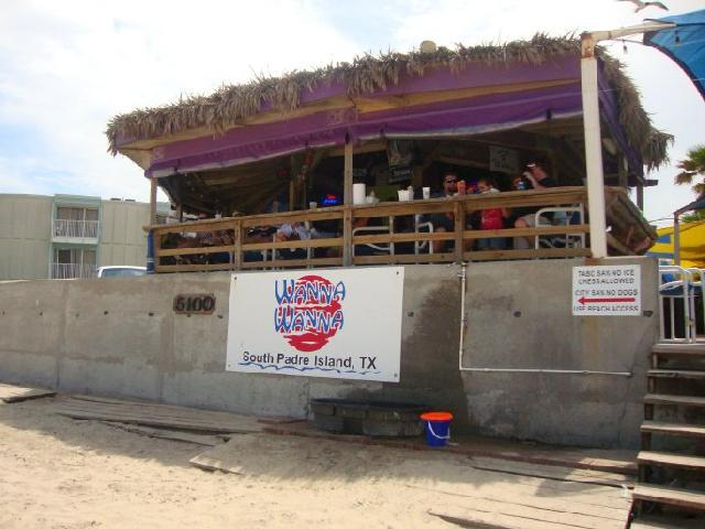 South Padre, USA - Wanna Wanna Beach Bar