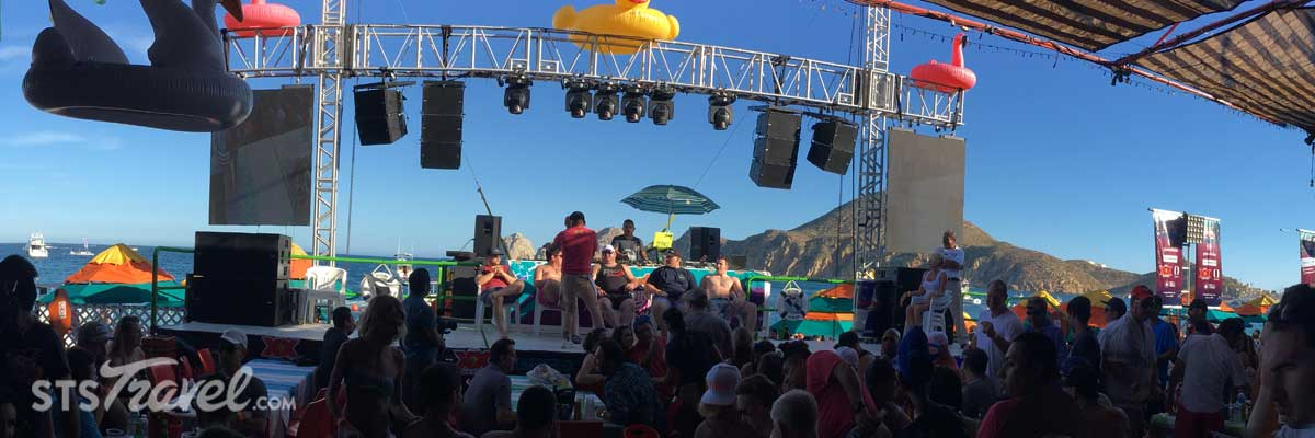 Cabo San Lucas Spring Break Party Packages