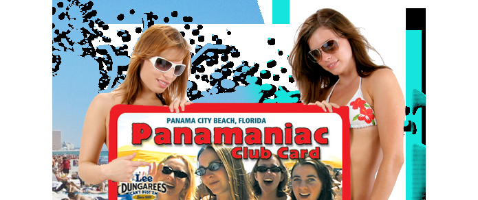 Panaama City Beach Panamamaniac Card