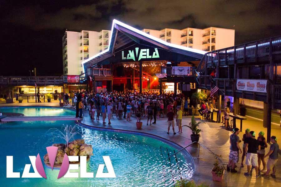 Spring Break Panama City Beach.  Club La Vela Deck Pool