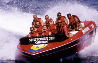 Shotover Jet - Cancun, Mexico