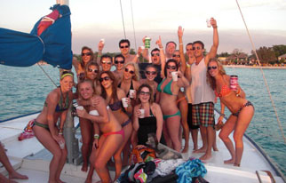 Sunset Party Cruise - Negril, Jamaica