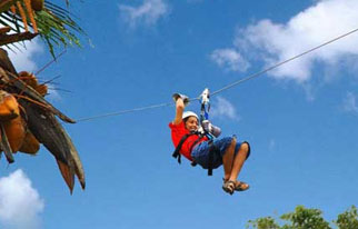 Zip Lines Adventures - Punta Cana, Dominican Republic
