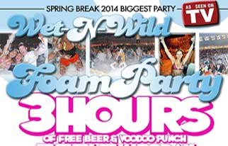 Hammerhead Freds Wet and Wild Foam Party-Thursday  - Panama City, USA